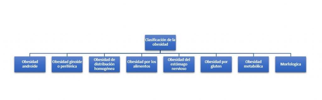 Clasificación de la obesidad
