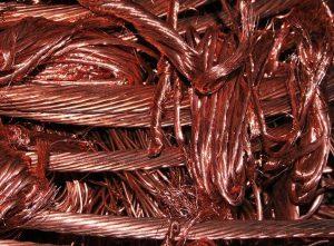 cobre material conductor