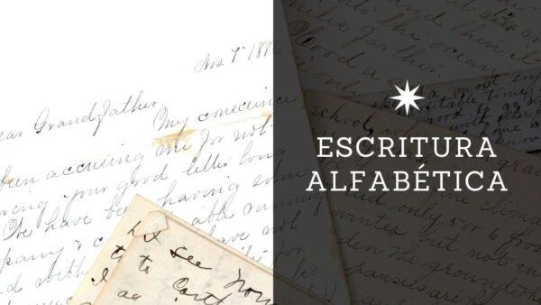 Escritura alfabética