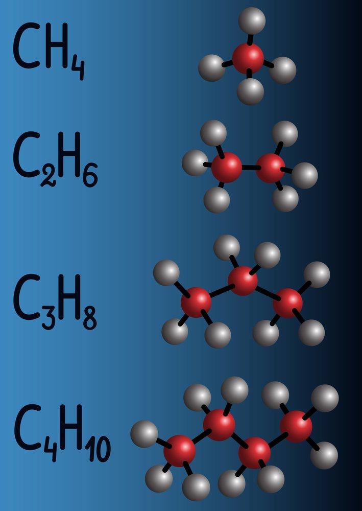 ejemplos de alcanos