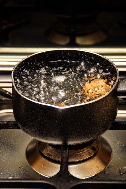 hervir agua ejemplos de la ley de conservación de la masa