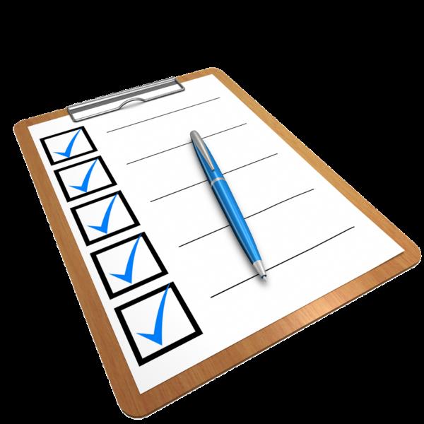 Ejemplos de formularios para niños
