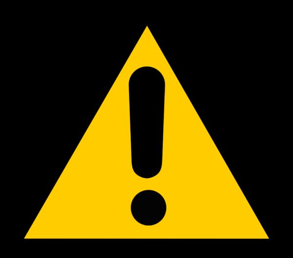 Ejemplos de advertencias cortas